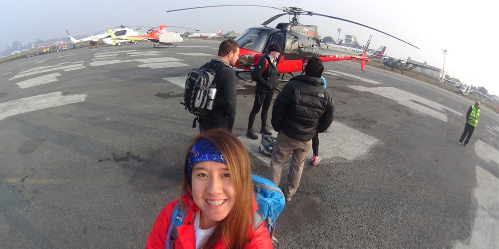 Muktinath helicopter tour!