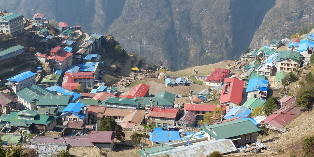 Namche Bazaar, Beautiful Sherpa village and Hub of Everest region!