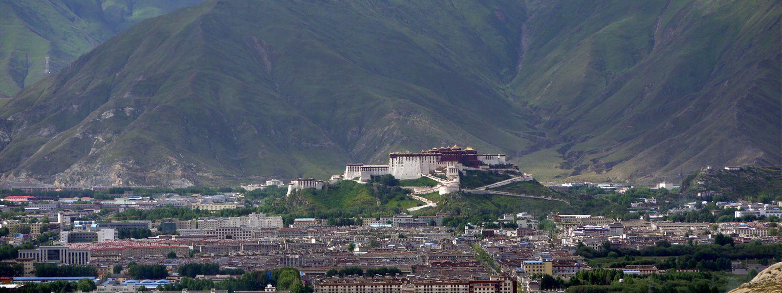 Potala Palace in Lhasa Tibet!