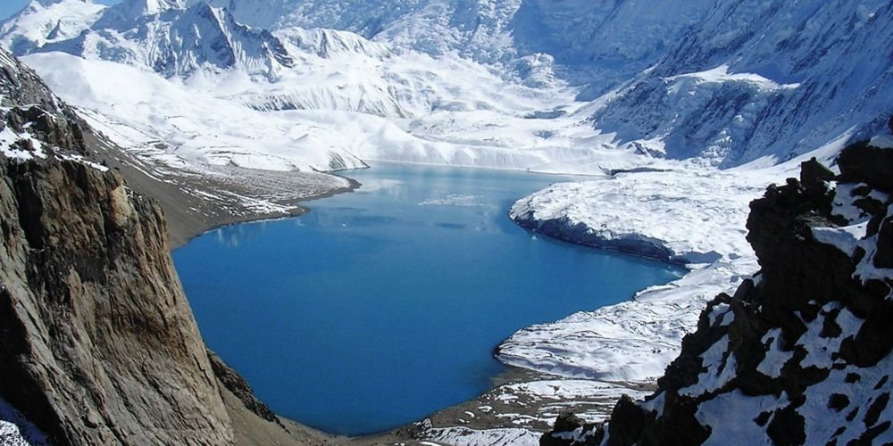Beautiful World Highest Lake in High Himalayas!